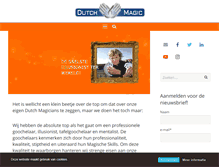 Tablet Preview of dutchmagic.nl